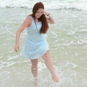 Nikibiki Sea Blue Dress